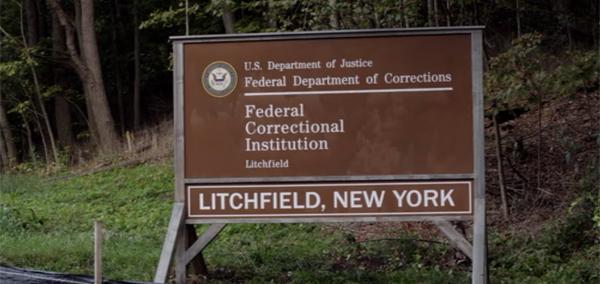 OITNB Jail Sign