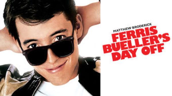 JULY NETFLIX FERRIS BUELLER