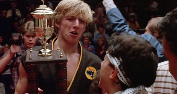 karate kid trophy