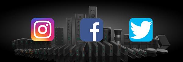 30000 mAh aukey social media