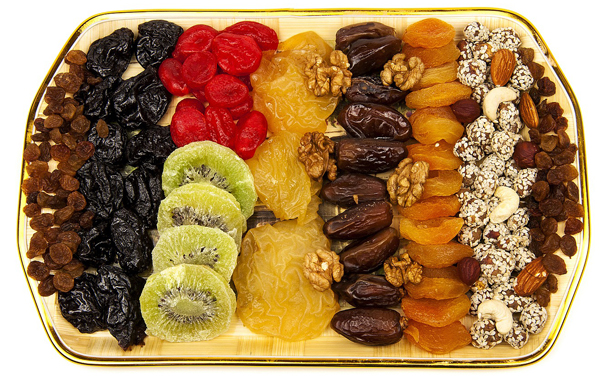 Post-Workout dried fruits