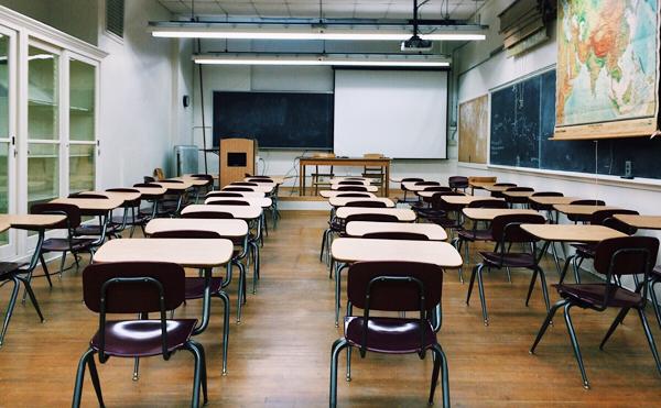 classroom from rear