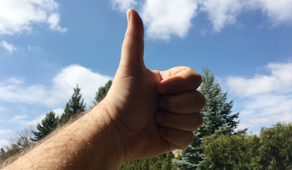 thumbs up checklist