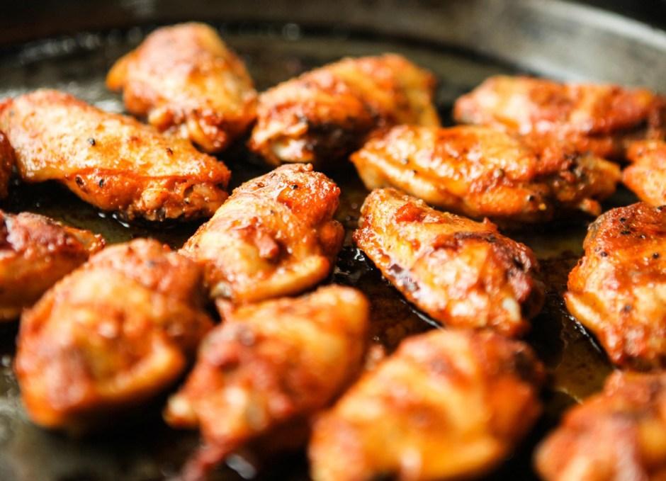 action movie marathon chicken wings