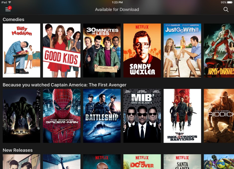 download netflix available