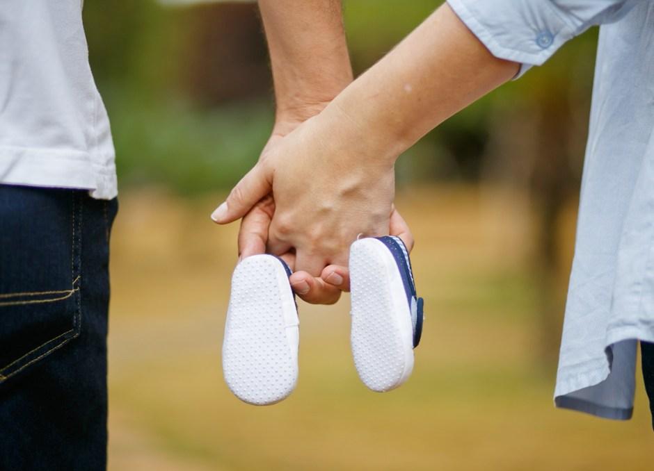 Fertility holding hands