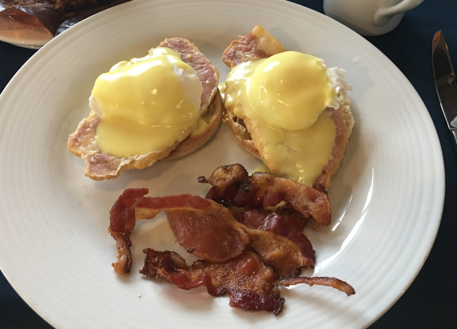 fern resort double eggs benedict