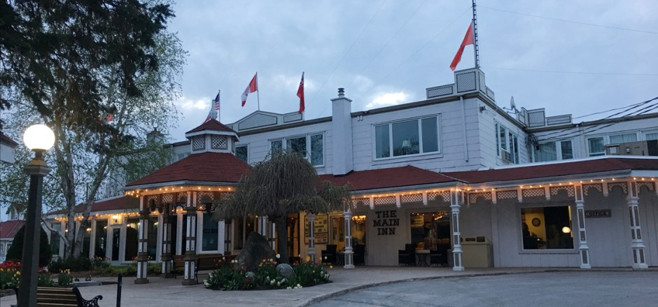 fern resort main building