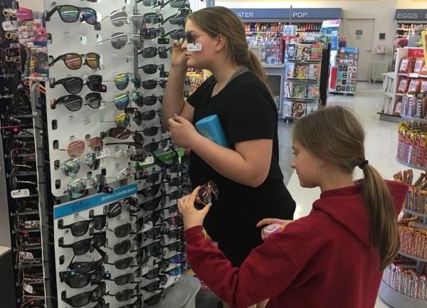 shoppers sunglasses