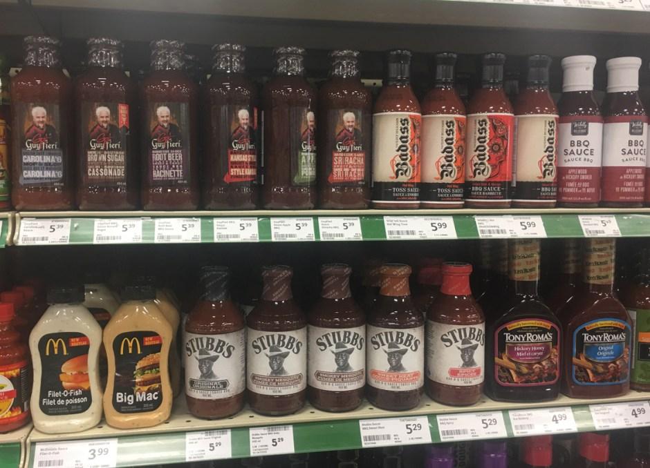 Packaging Design BBQ sauce