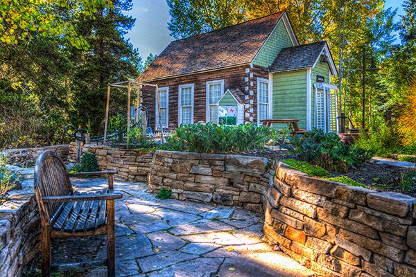 home garden feature small
