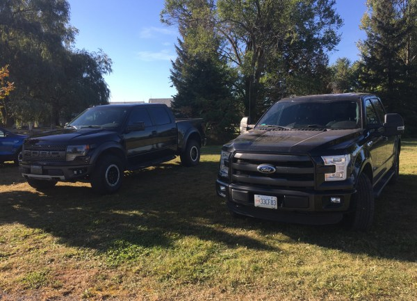 farm raptor and f150