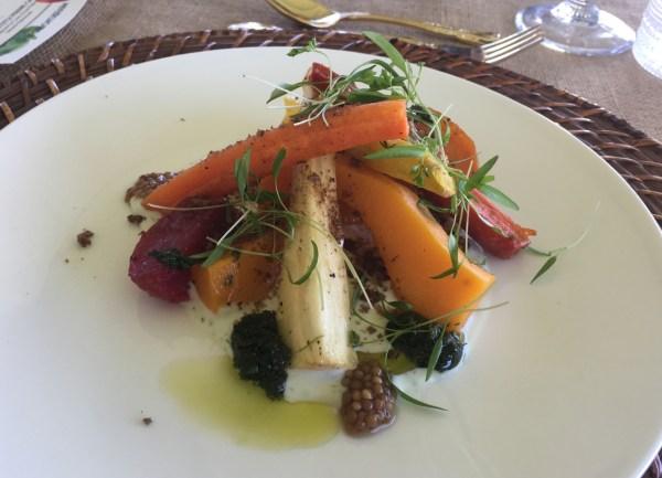 farm roasted vegetable salad
