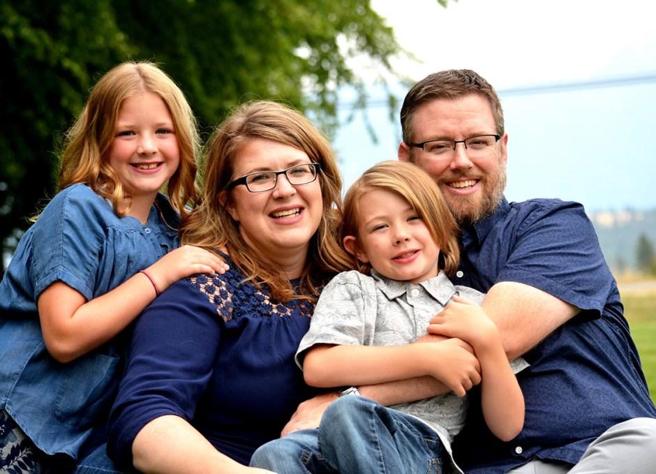 Kyla Cornish family portrait