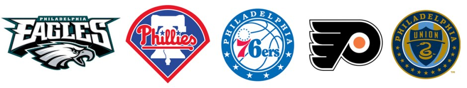 Philadelphia 5 pro sports teams