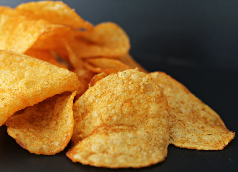 lose weight processed food chips
