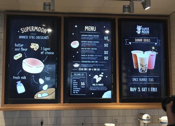 super moon menu