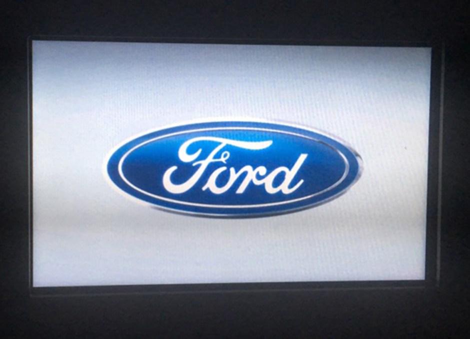 SYNC3 Ford logo