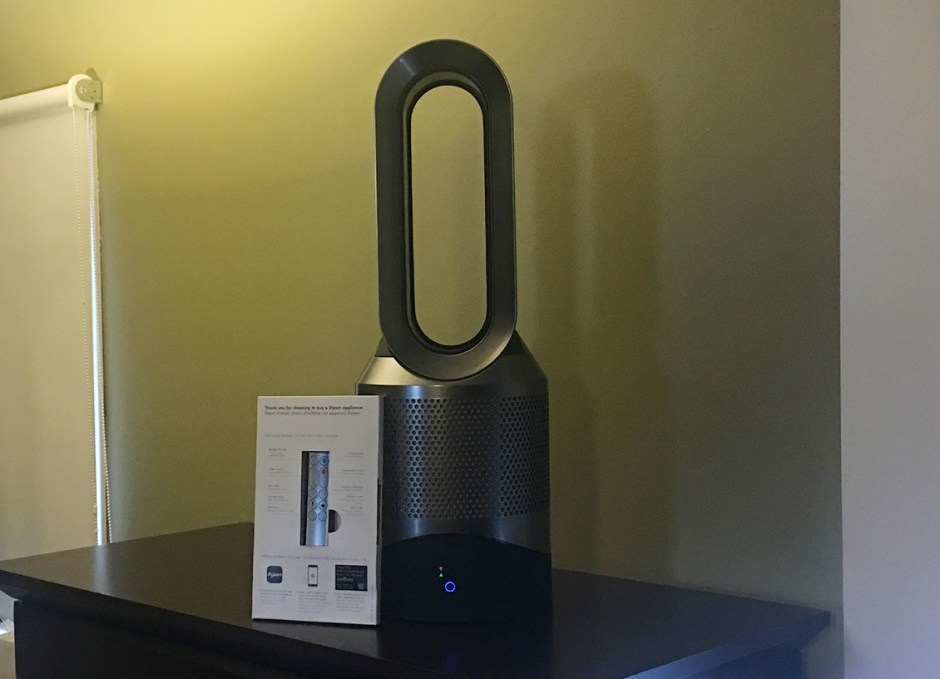 dyson link fan with remote in box