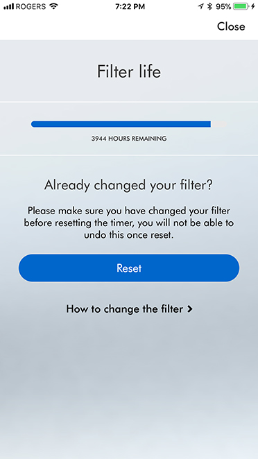 dyson link filter life