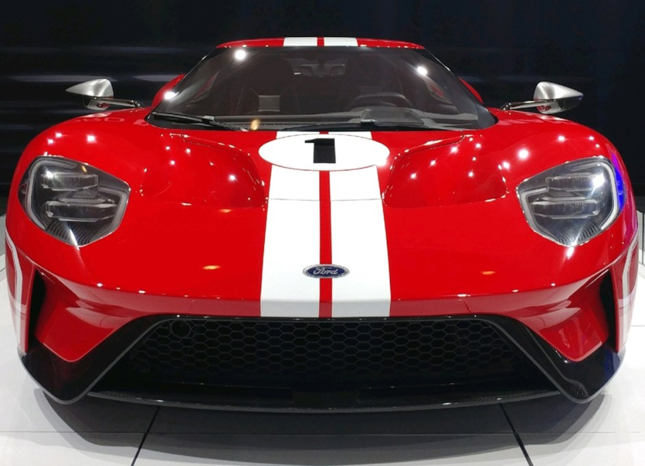 McQueen ford gt