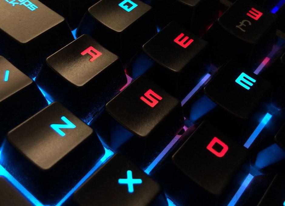 casino games keyboard