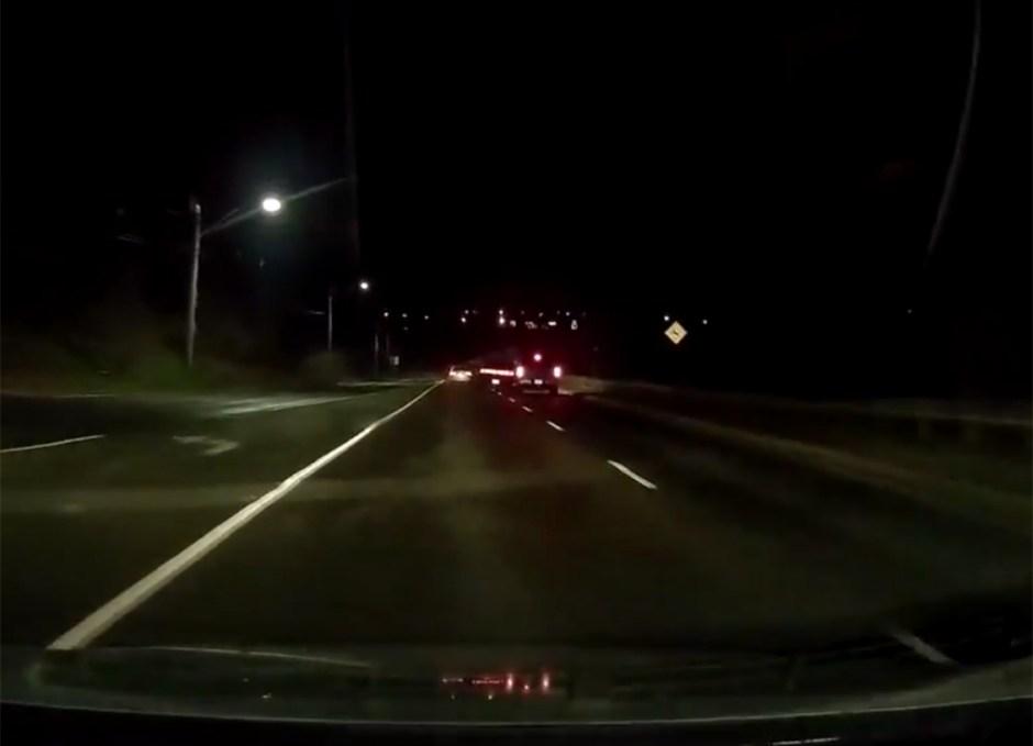 dash cam collision caught on cam