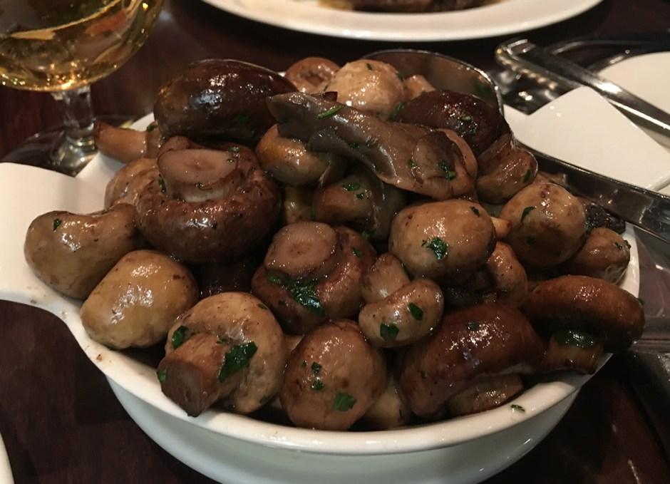 great food st germains mushrooms