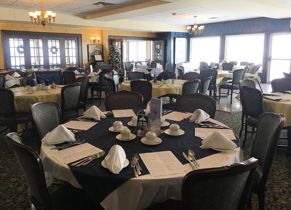 ice skating fern resort dining room