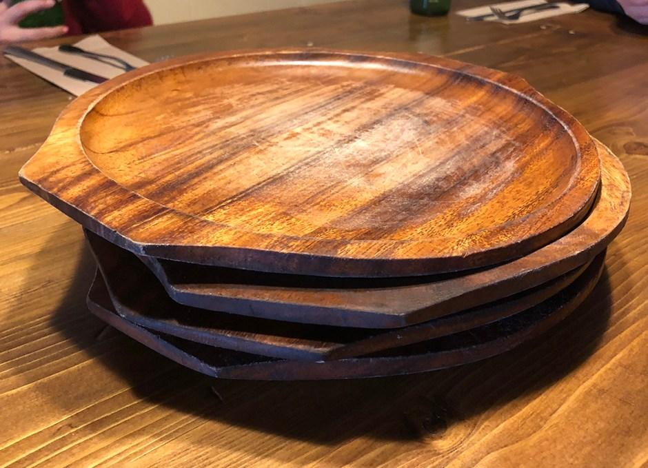 R Cottage plates