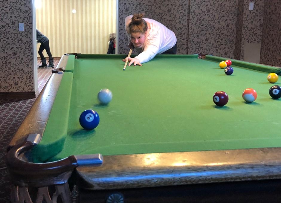 activities playing pool billiards