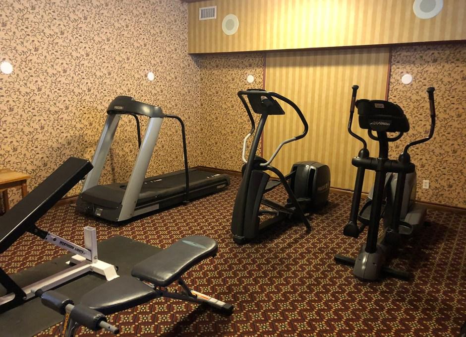 activities workout room