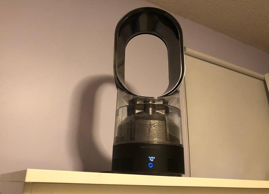 dyson humidifier in rachels room