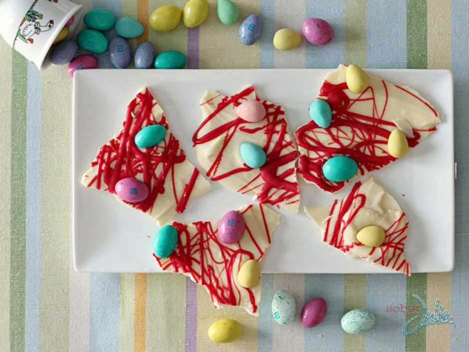 easter treats 5 Easter Chocolate Bark