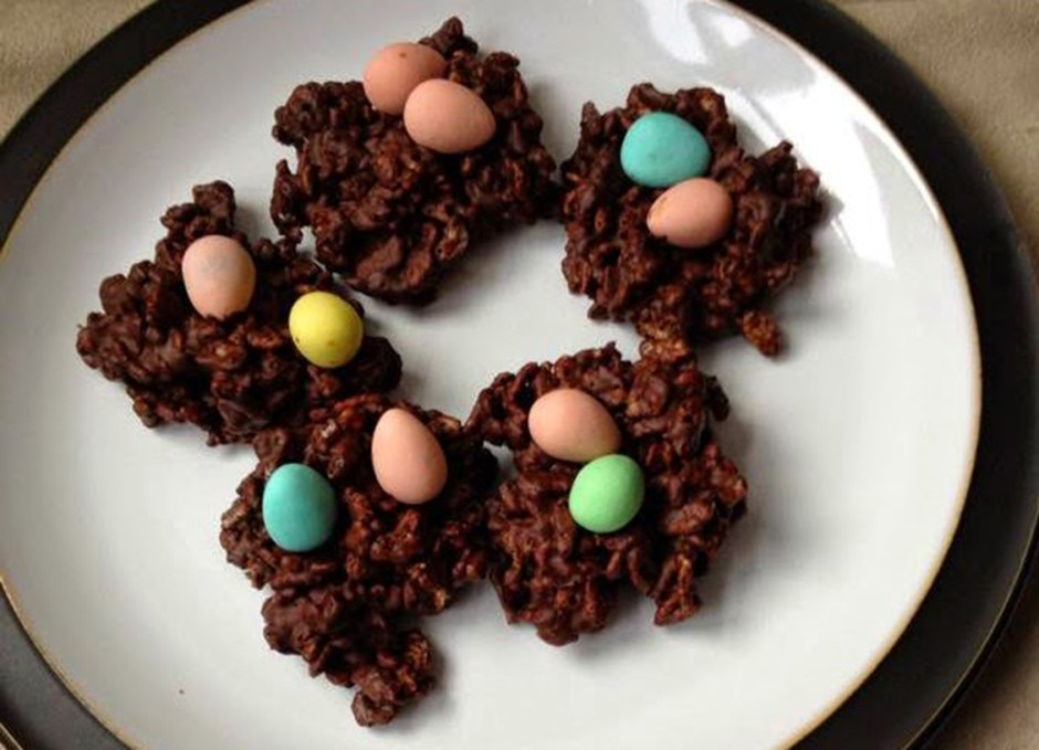 easter treats 7 Simple Chocolate Nests