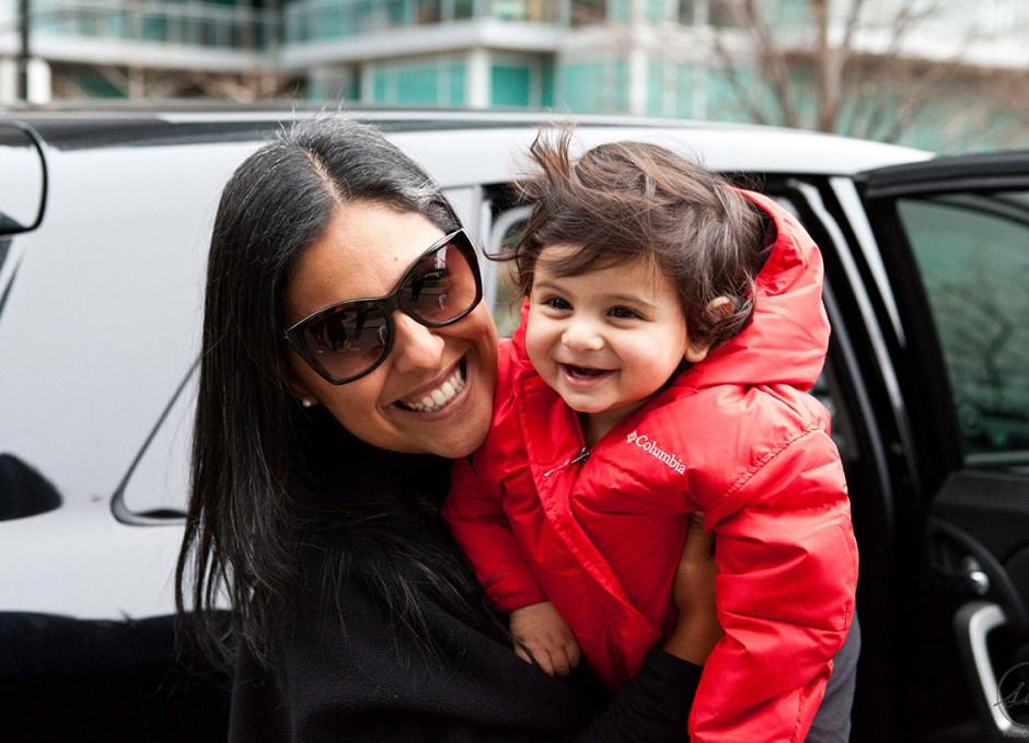 solmaz with child