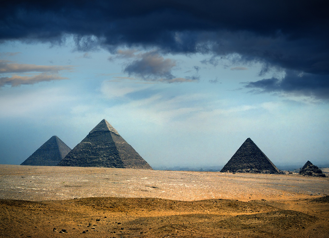 Egypt pyramids feature