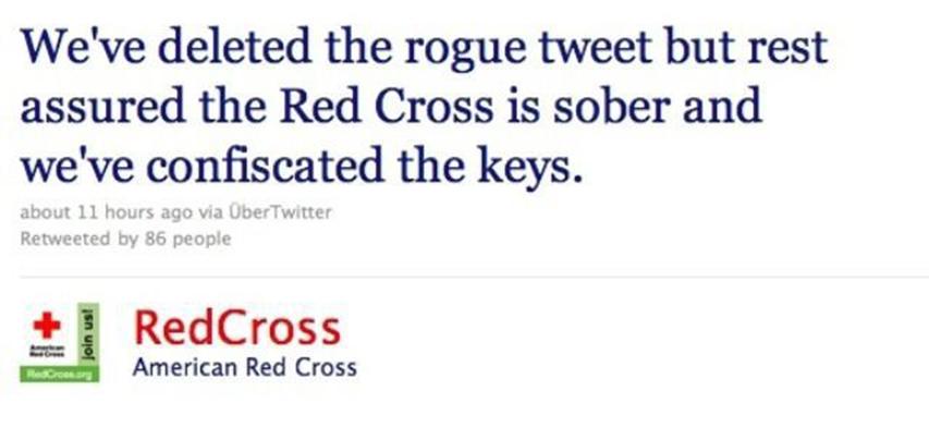 be nice red cross retraction
