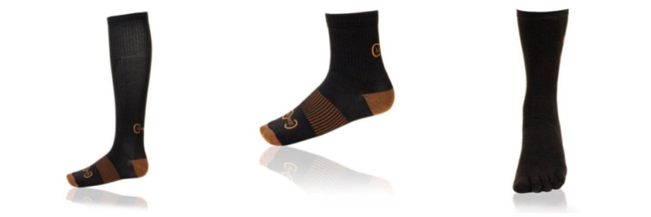 compression socks copper