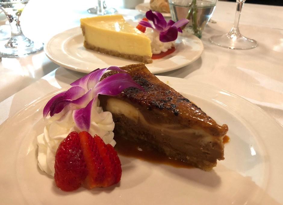 Chef Michael's desserts