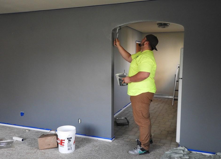Renovation painter
