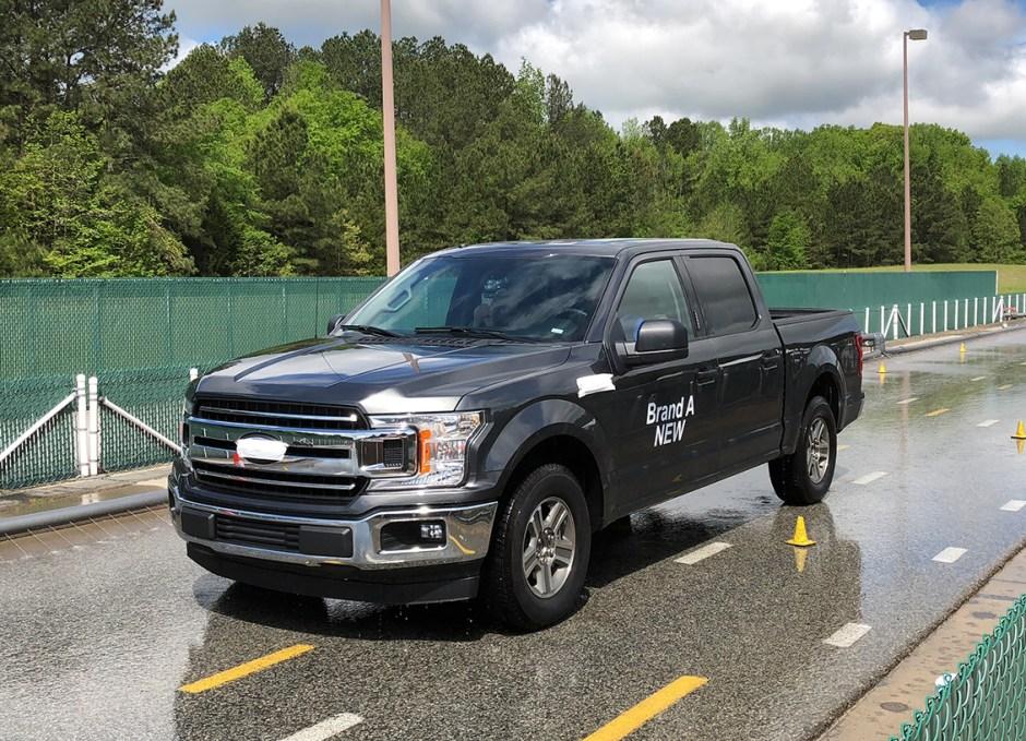 michelin truth about worn tires wet braking f150