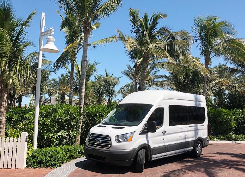 Get Around Key West hotel shuttle