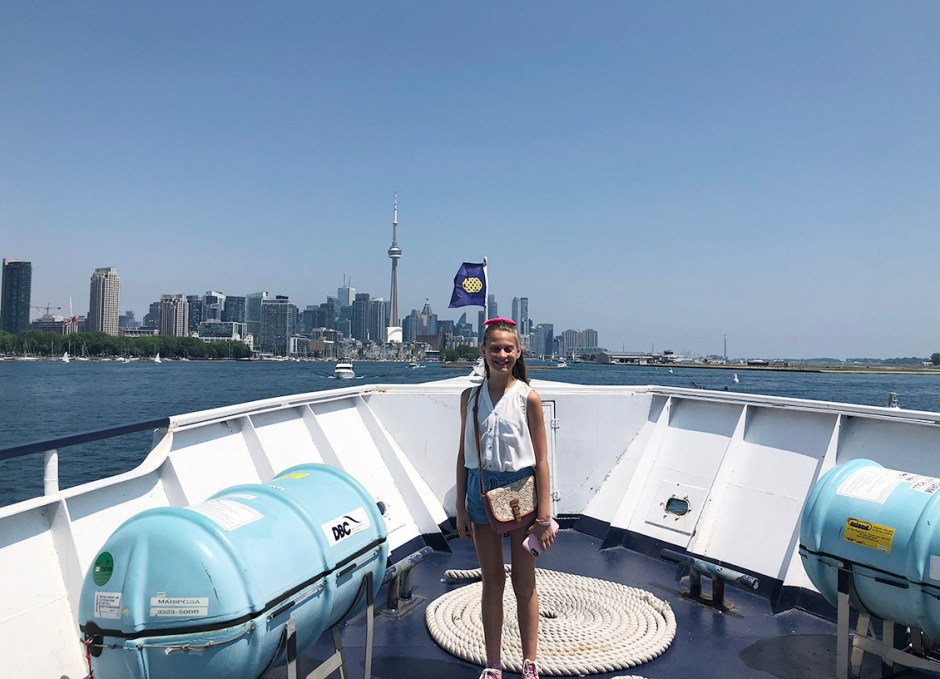 Northern Spirit Lauren with CN Tower in Background