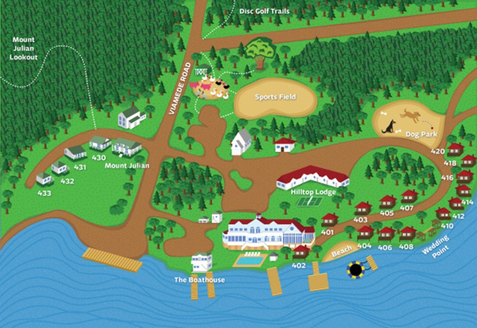 viamede resort property map