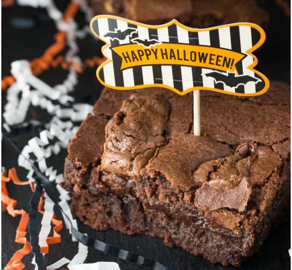 09 halloween brownies Halloween Treats 2018