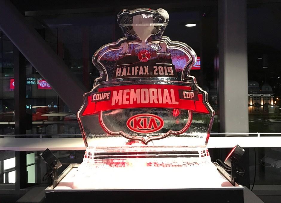 Memorial Cup 2019 logo CHL Kia Canada