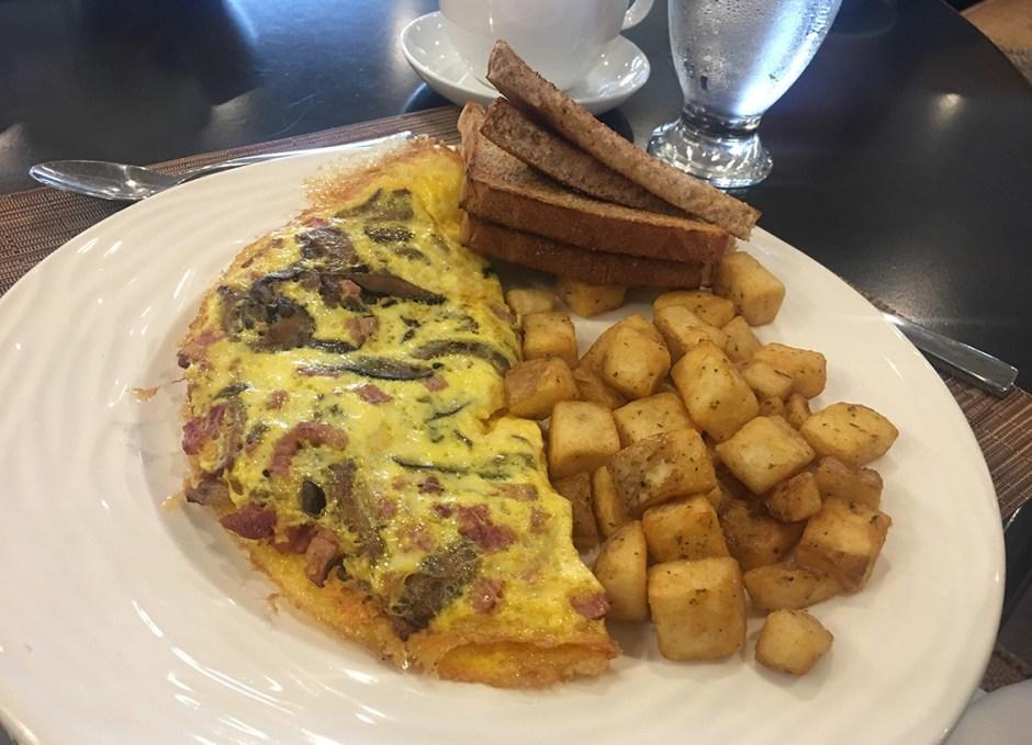 lighthouse 45 omelette