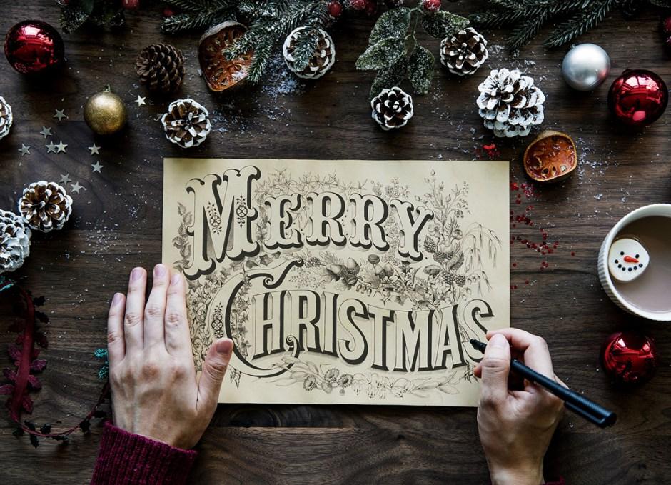 merry christmas greeting 2018