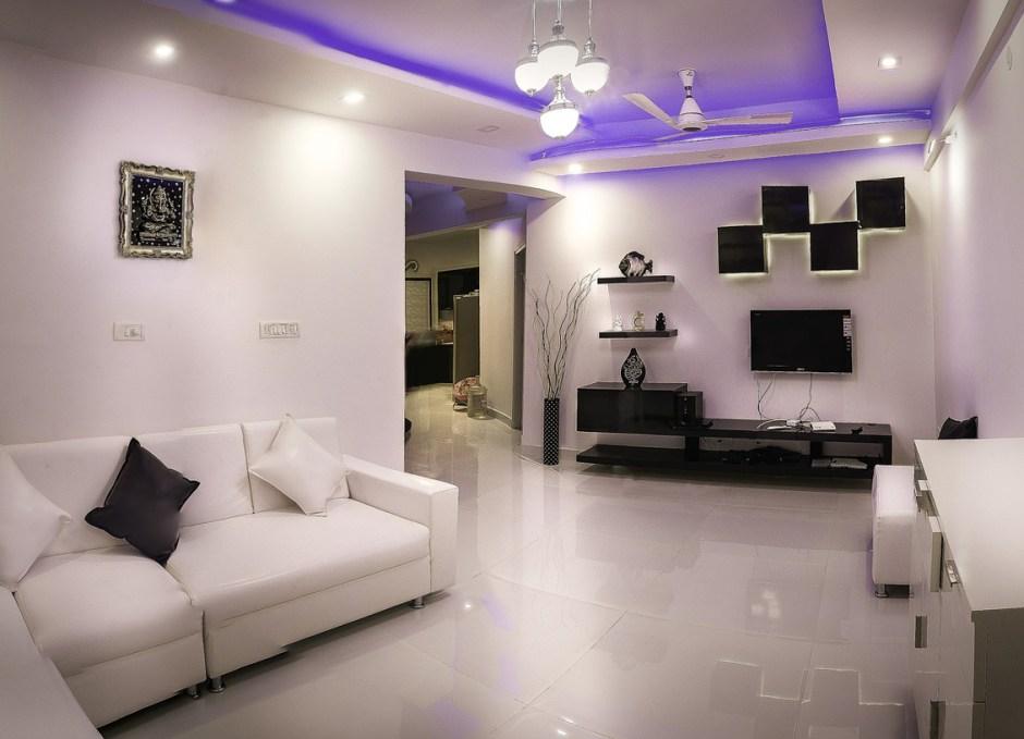 multi lighting hall